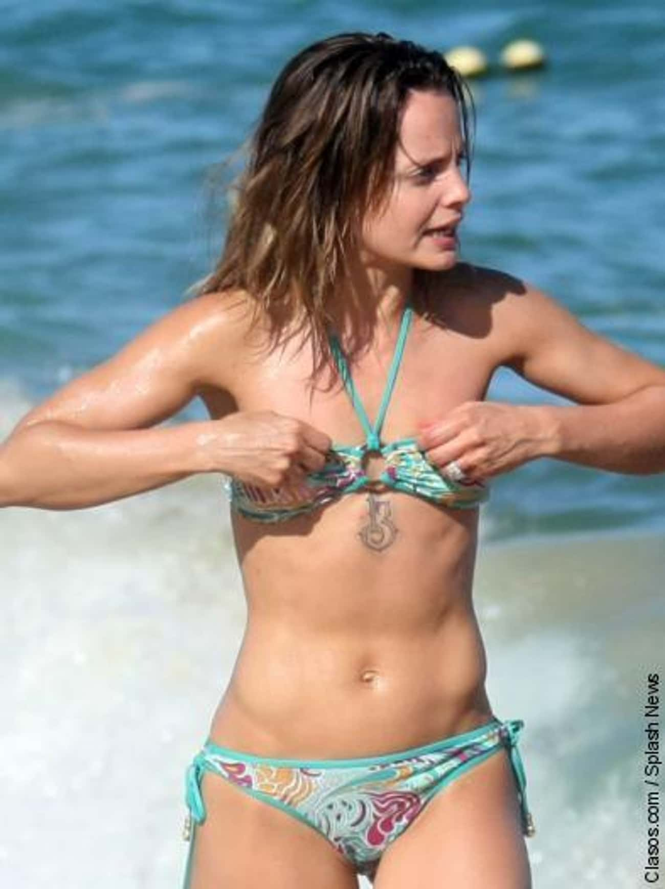 Mena Suvari is listed (or ranked) 4 on the list 26 Celebrities with Chest Tattoos