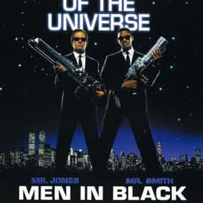Men in Black is listed (or ranked) 16 on the list The Best Space Movies
