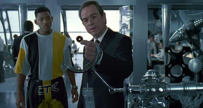 Men in Black is listed (or ranked) 2 on the list The Dumbest Technology In Science Fiction