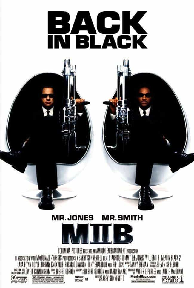 Men in Black II is listed (or ranked) 3 on the list All the 'Men in Black' Movies, Ranked Best to Worst