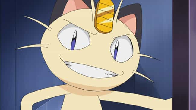 Meowth is listed (or ranked) 3 on the list The 15 Greatest Anime Cats of All Time