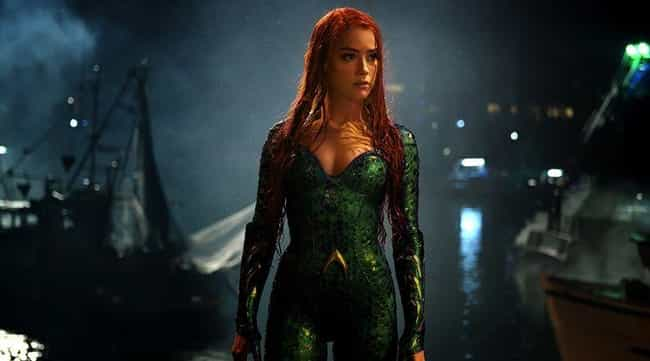 Mera is listed (or ranked) 1 on the list Here Are All The Characters In 'Aquaman' That You've Never Seen Before