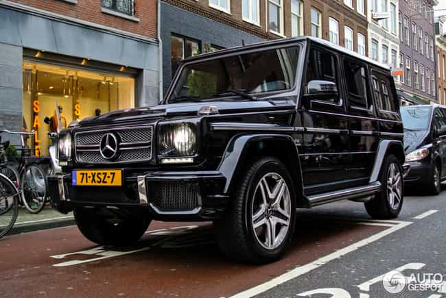 Mercedes-Benz G-Class is listed (or ranked) 1 on the list 20 Snazzy Cars Most Preferred by Celebrities