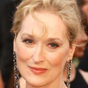 Meryl Streep is listed (or ranked) 25 on the list The Most Influential Actors Of 2019