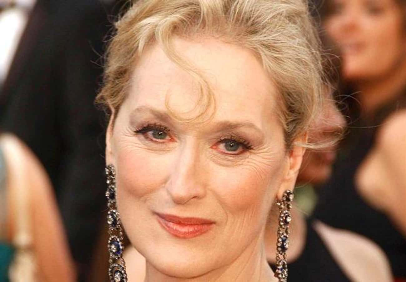 Meryl Streep is listed (or ranked) 3 on the list Famous Female Film Actresses
