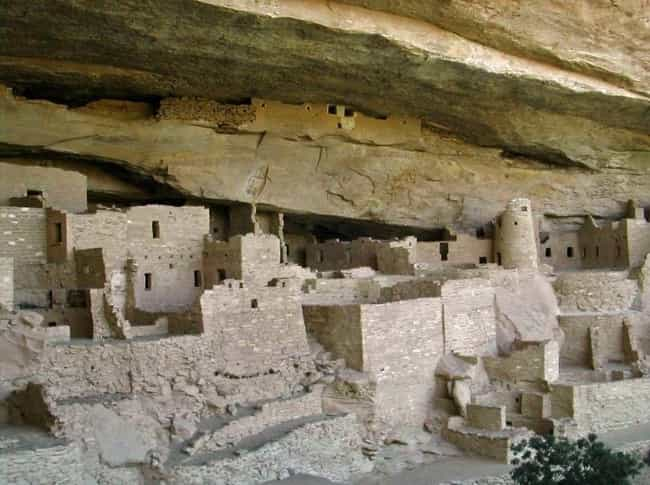 Mesa Verde National Park is listed (or ranked) 3 on the list Cool Things Carved Into Mountains & Cliffs Around the World