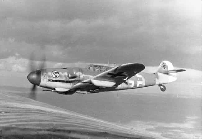 Messerschmitt Bf 109 is listed (or ranked) 2 on the list The Most Iconic World War II Planes