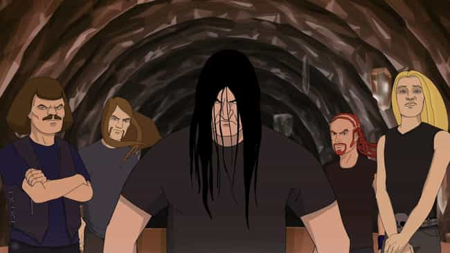 Metalocalypse is listed (or ranked) 4 on the list In Case You Missed It:Horror News Of The Week - March 16 - 20