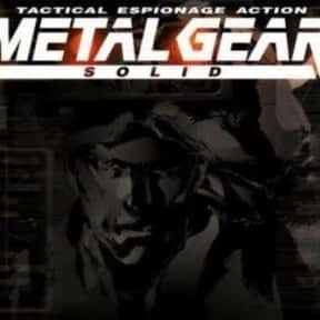 Metal Gear Solid is listed (or ranked) 11 on the list Video Games That Should Be Movies