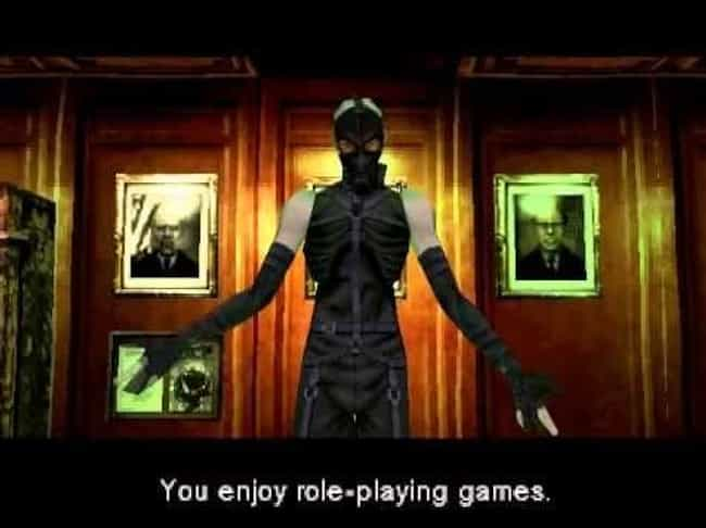 Metal Gear Solid is listed (or ranked) 3 on the list These Horrifying Video Games Were Designed Specifically To Mess With Your Head