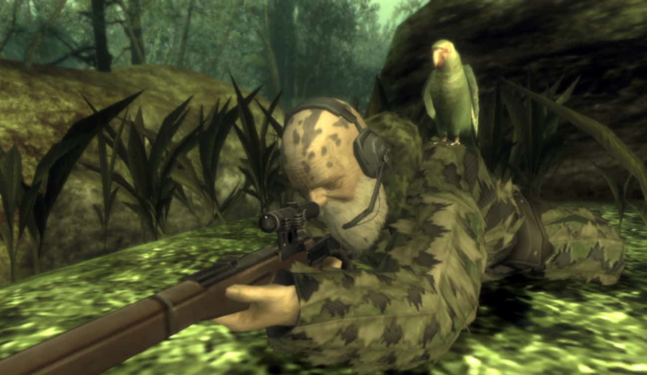 There Are Numerous Ways To Kill The End In 'Metal Gear Solid 3: Snake Eater' Without Actually Fighting Him