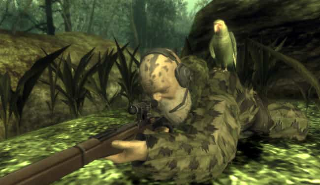 Metal Gear Solid 3: Snake Eate... is listed (or ranked) 3 on the list Video Games That Secretly Reward You For Cheating