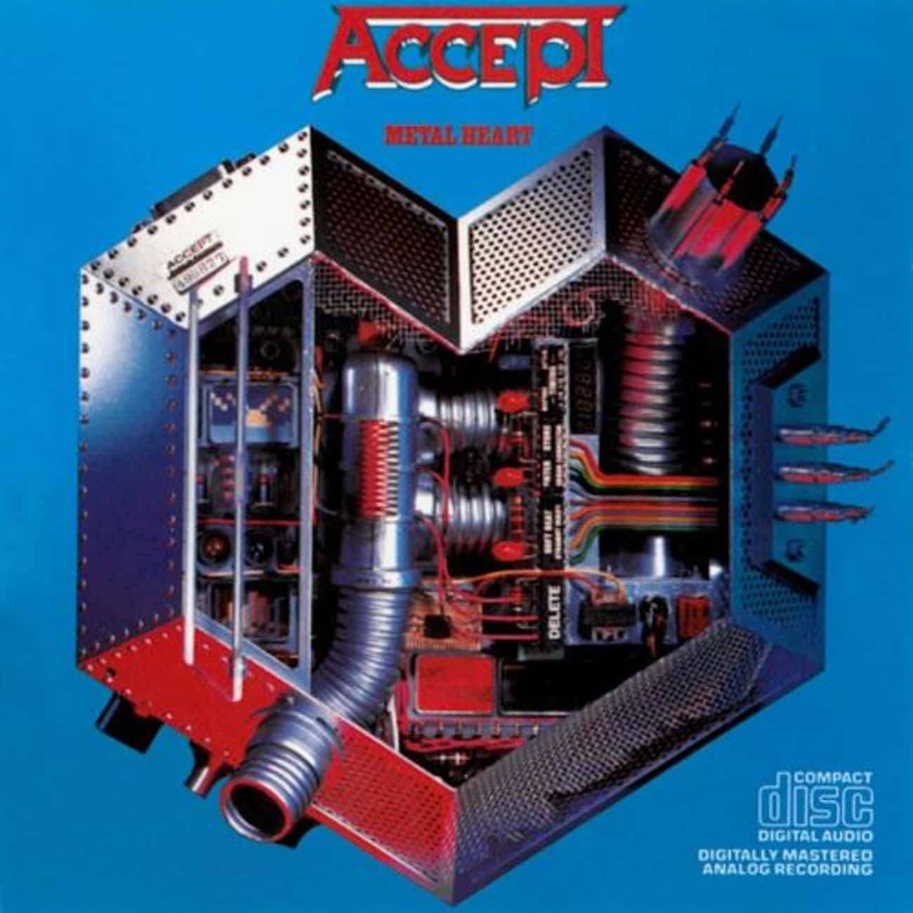 Metal Heart is listed (or ranked) 3 on the list The Best Accept Albums of All Time