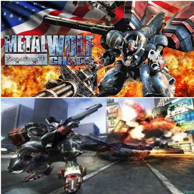 Metal Wolf Chaos is listed (or ranked) 4 on the list The Best Japanese Video Games That Were Never Released In America