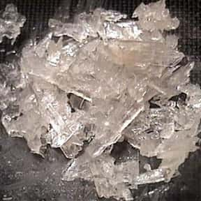 Methamphetamine is listed (or ranked) 8 on the list The Worst Drugs for You