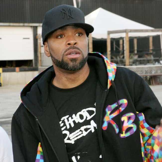 Method Man is listed (or ranked) 2 on the list Rappers Who Have Beards
