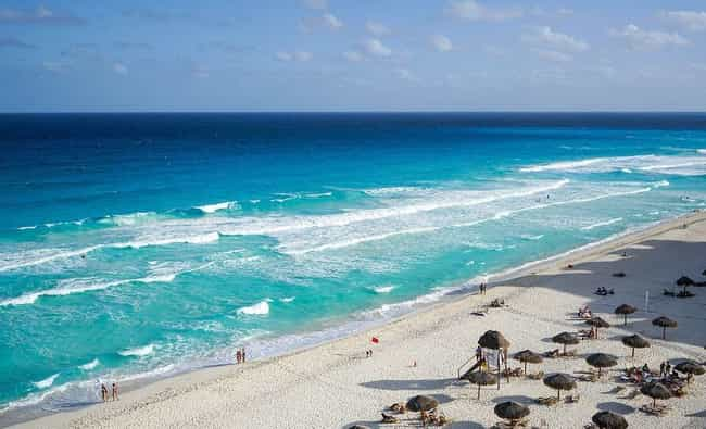 Mexico is listed (or ranked) 7 on the list The Countries with the Best Beaches