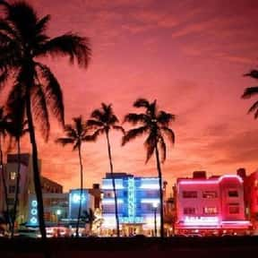 Miami is listed (or ranked) 24 on the list The Best Gay Travel Destinations