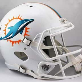Dolphins is listed (or ranked) 25 on the list The Best Current NFL Helmets