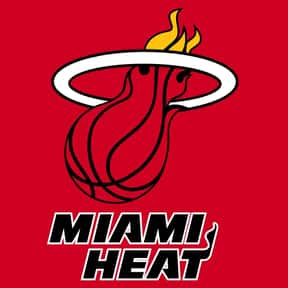 Miami Heat is listed (or ranked) 6 on the list The Coolest Basketball Team Logos