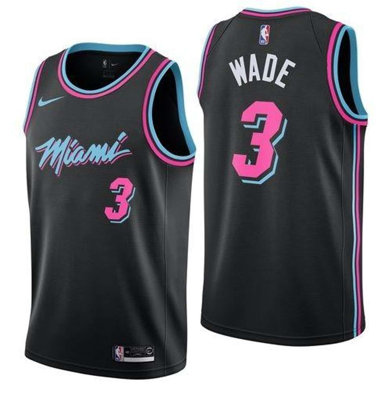 "Miami Heat is listed (or ranked) 1 on the list The Coolest NBA ""City Edition"" Jerseys"