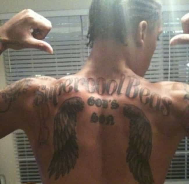 Michael Beasley is listed (or ranked) 4 on the list NBA Players with the Worst Tattoos