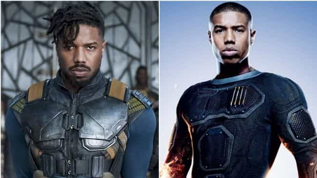Michael B. Jordan is listed (or ranked) 2 on the list Where You've Seen All The Black Panther Actors Before