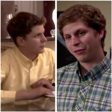 Michael Cera (George Michael B is listed (or ranked) 2 on the list How the Cast of Arrested Development Has Aged Since the First Season
