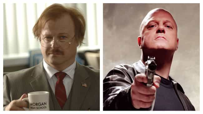 Michael Chiklis is listed (or ranked) 2 on the list Hairpieces On Iconically Bald Actors, Ranked By Degree Of Blasphemy