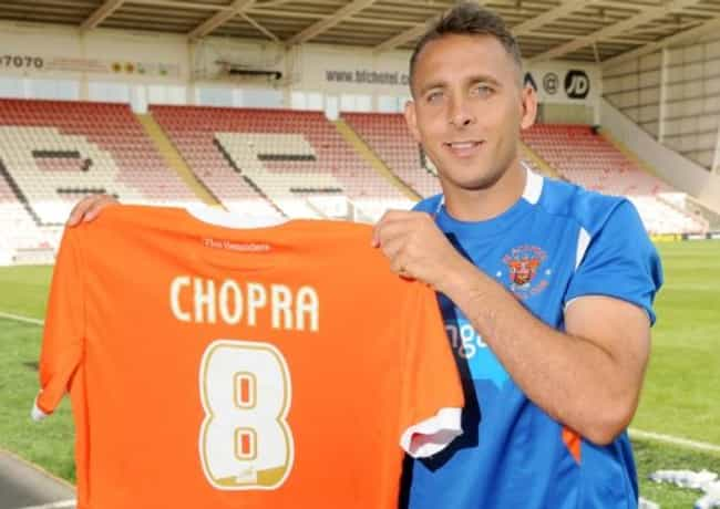 Michael Chopra is listed (or ranked) 3 on the list Footballers Who Suffered Gambling Problems