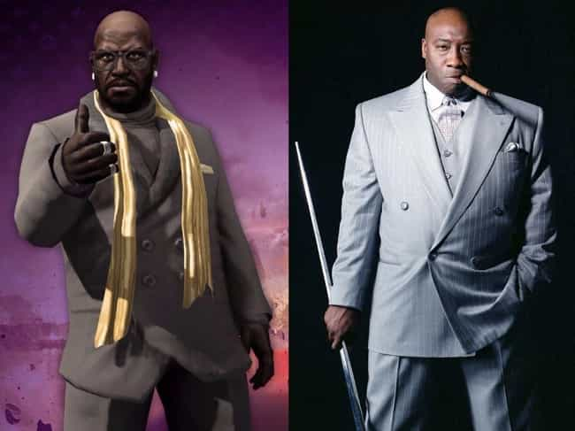 Michael Clarke Duncan is listed (or ranked) 4 on the list 24 Huge Celebrities Who Secretly Voiced Your Favorite Video Game Characters