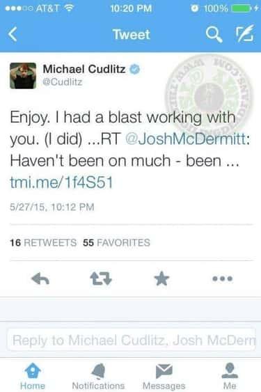 Michael Cudlitz Spoiled Abraham's Baseball Bat Bashing