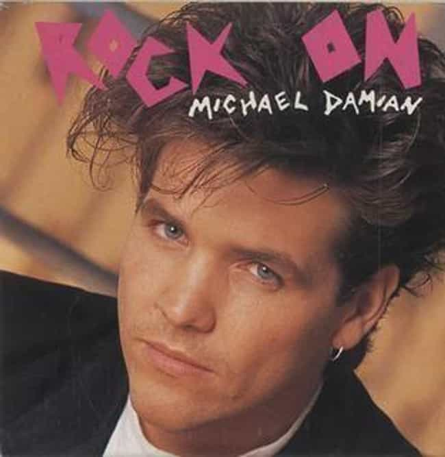 Michael Damian is listed (or ranked) 4 on the list Which '80s Actor Or Actress Had The Most Impressive Album?