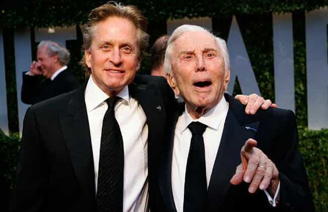 Michael Douglas is listed (or ranked) 7 on the list 25 Famous People with Jewish Fathers