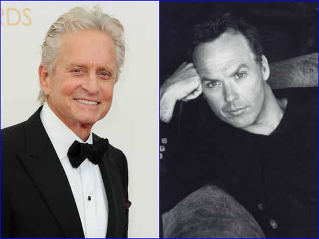 Michael Douglas is listed (or ranked) 1 on the list Famous People with the Same Real Name