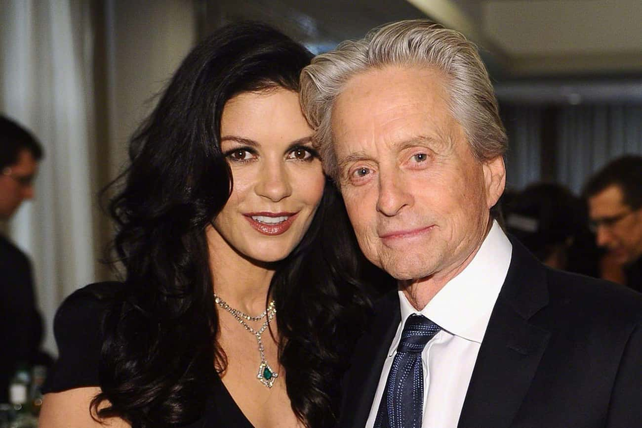 Michael Douglas is listed (or ranked) 1 on the list Catherine Zeta-Jones' Loves & Hookups