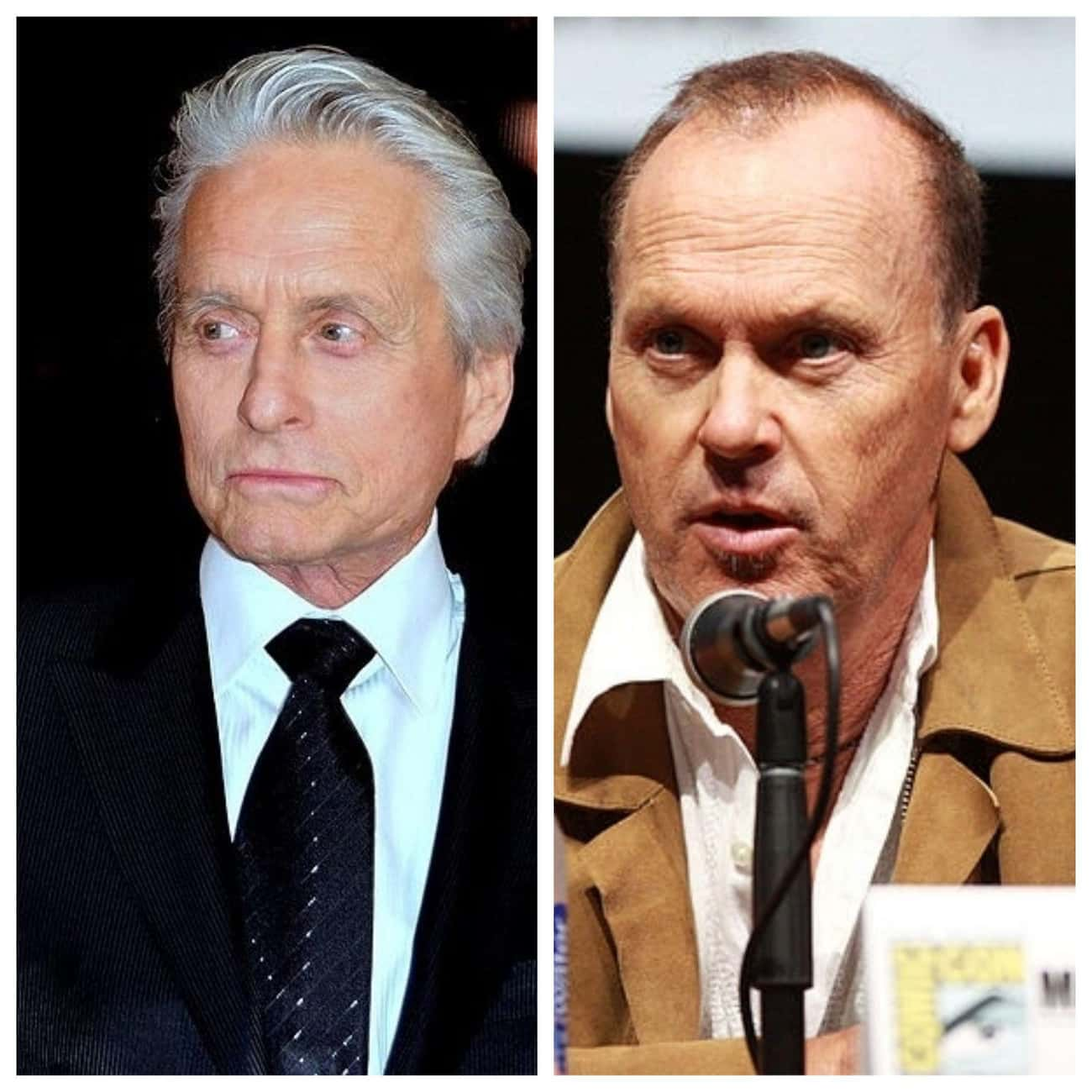 Michael Douglas & Michael Keat is listed (or ranked) 1 on the list Famous People with the Same Real Name