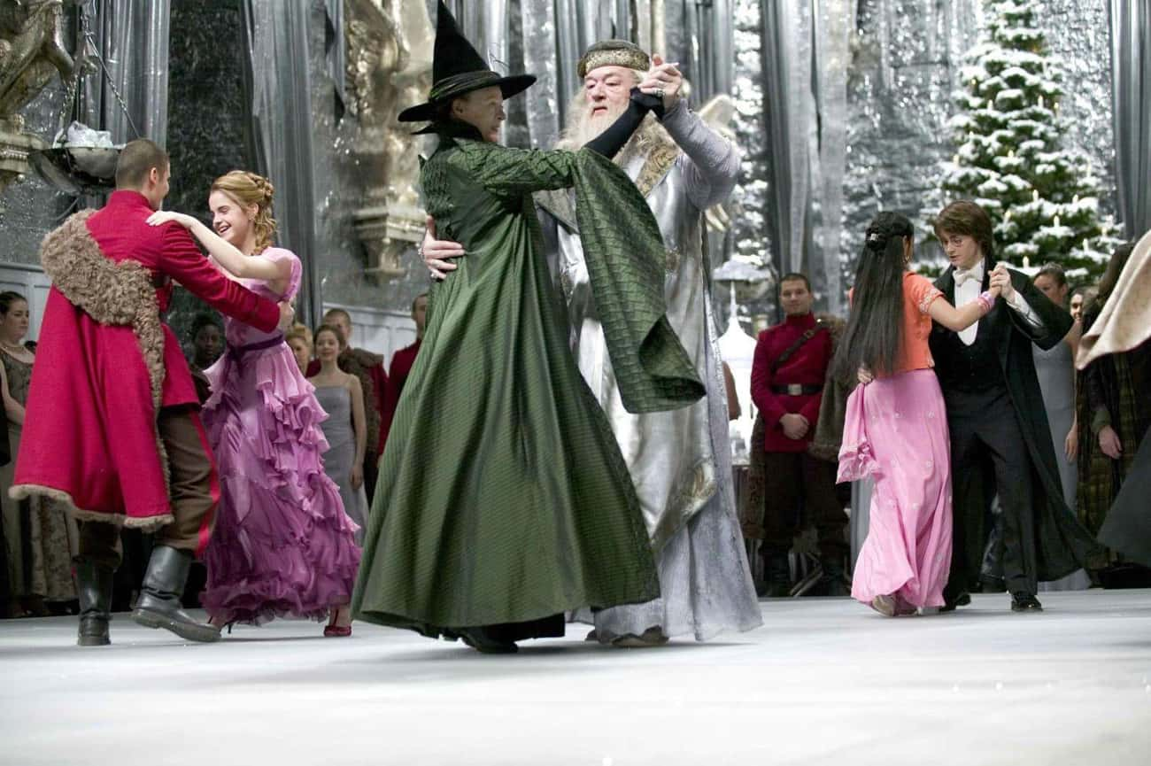 Michael Gambon:When He Danced With Maggie Smith In The Great Hall
