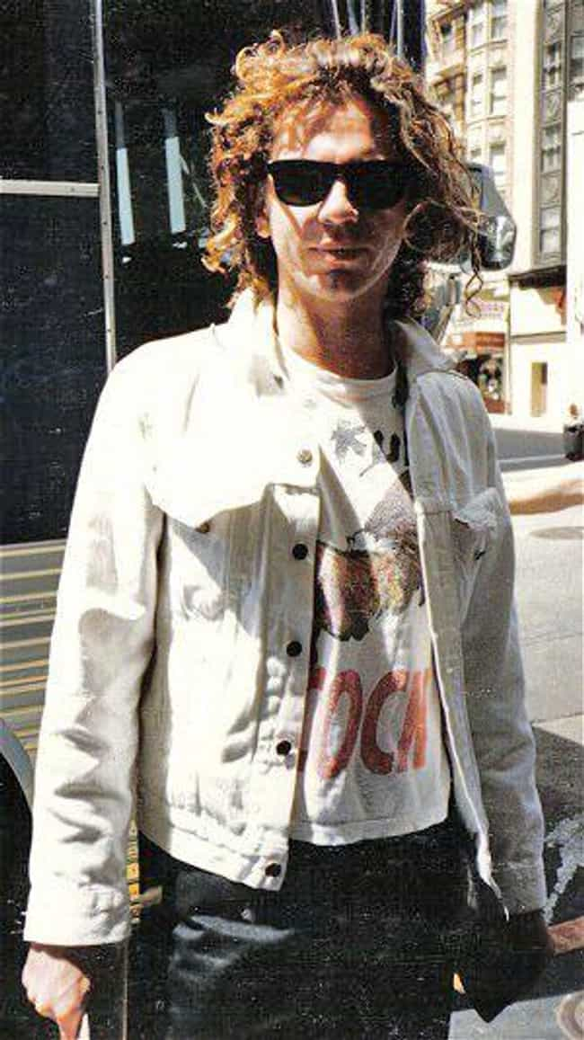 Michael Hutchence is listed (or ranked) 3 on the list Famous People Who Died of Auto-Erotic Asphyxiation