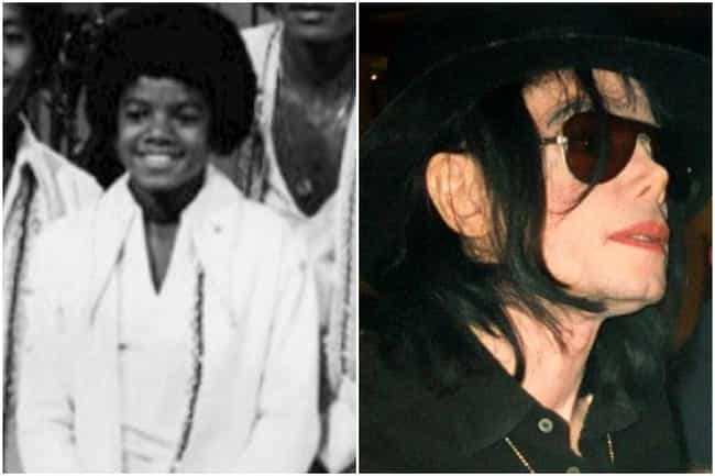 Michael Jackson is listed (or ranked) 1 on the list What Famous Singers Looked Like At The Beginning And The End Of Their Careers