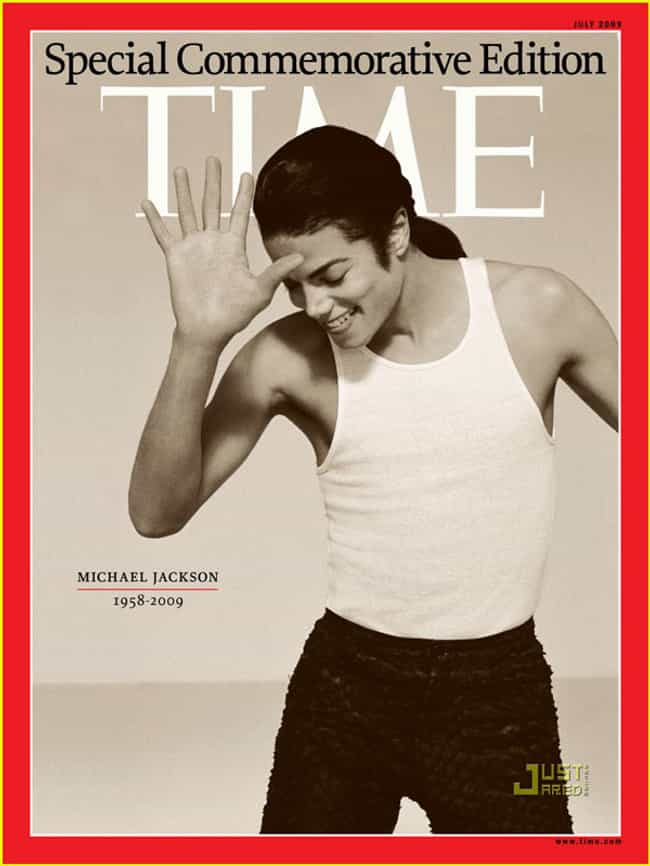 Michael Jackson is listed (or ranked) 1 on the list The Most Powerful Time Covers