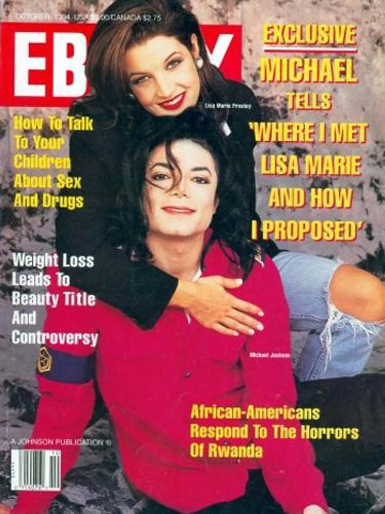 Michael Jackson is listed (or ranked) 3 on the list The Best Ebony Covers