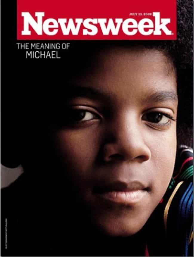 Michael Jackson is listed (or ranked) 3 on the list The Best Newsweek Covers