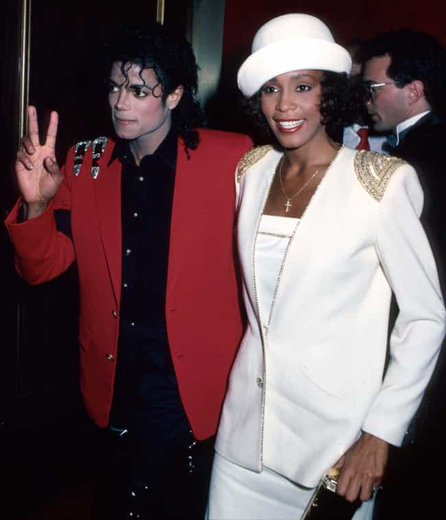 Michael Jackson is listed (or ranked) 3 on the list Whitney Houston Loves and Hookups