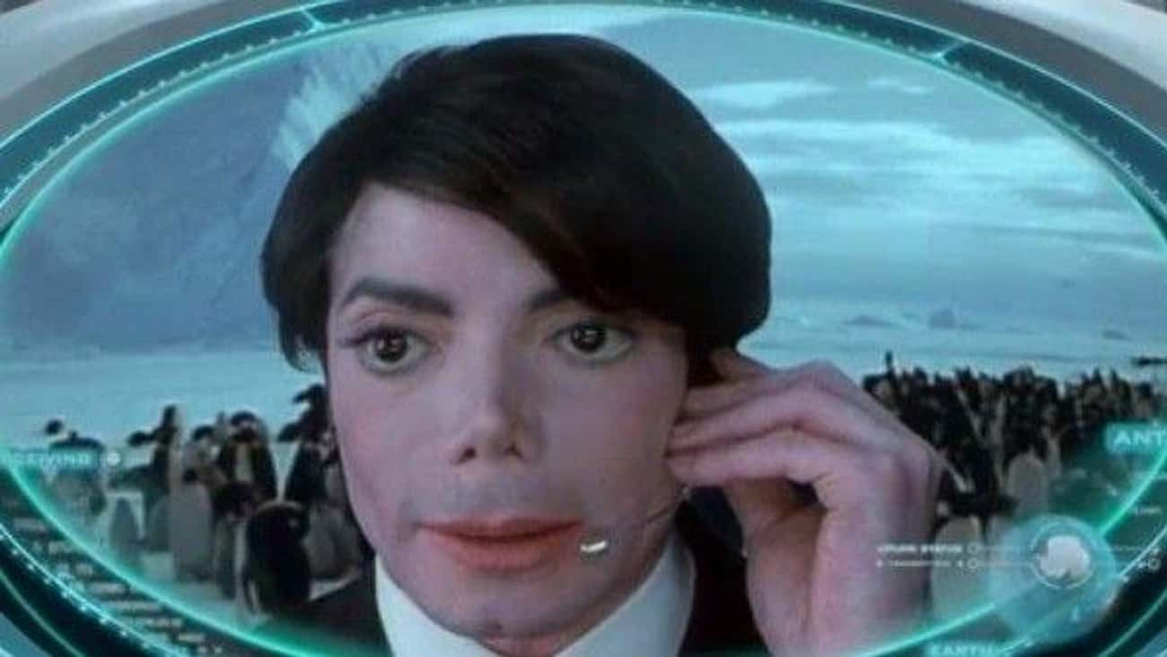 Michael Jackson In 'Men In Bla is listed (or ranked) 1 on the list The Best Pop Star Movie Cameos