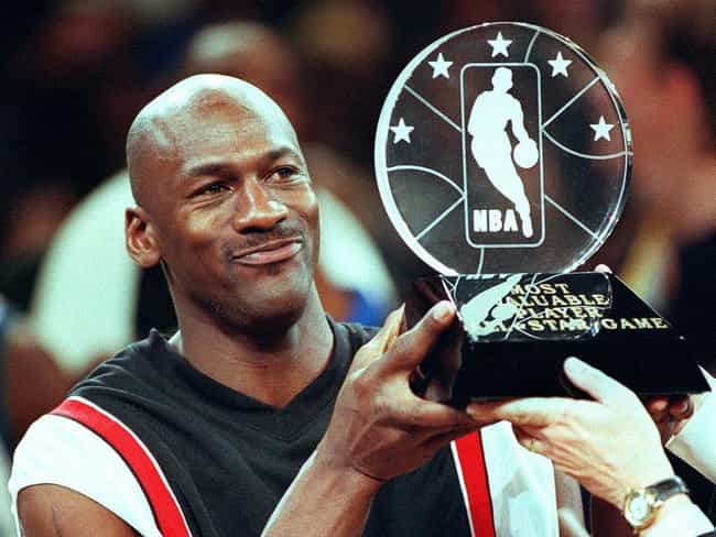 Michael Jordan is listed (or ranked) 4 on the list Celebrities Who Carry Lucky Charms