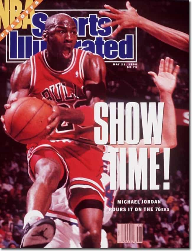 Michael Jordan is listed (or ranked) 3 on the list The Best Sports Illustrated Covers