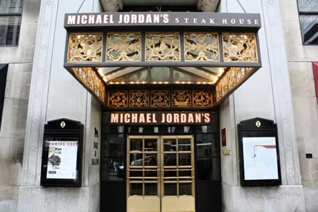 Michael Jordan is listed (or ranked) 1 on the list Athletes Who Own Restaurants