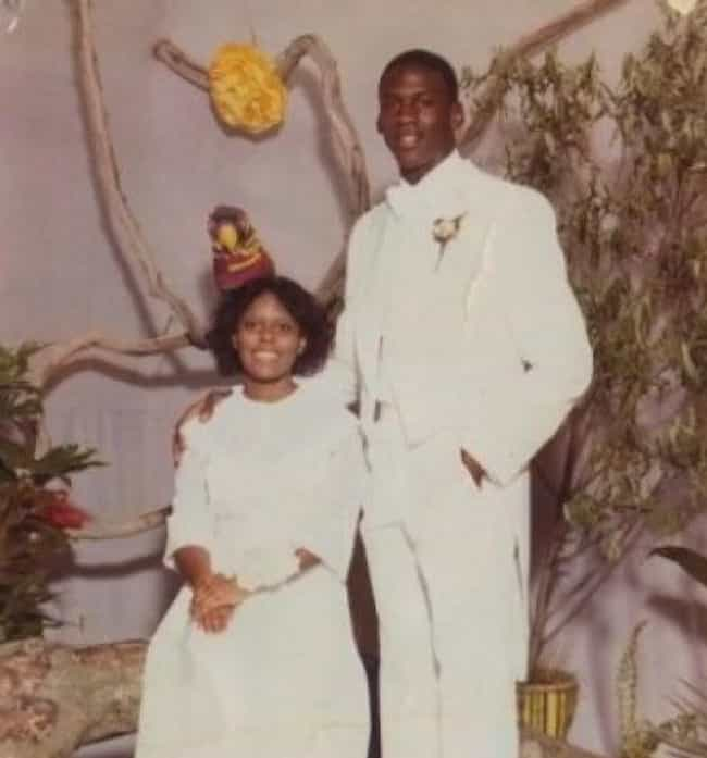 Michael Jordan is listed (or ranked) 6 on the list Athlete Prom Photos That Prove We All Had an Awkward Phase
