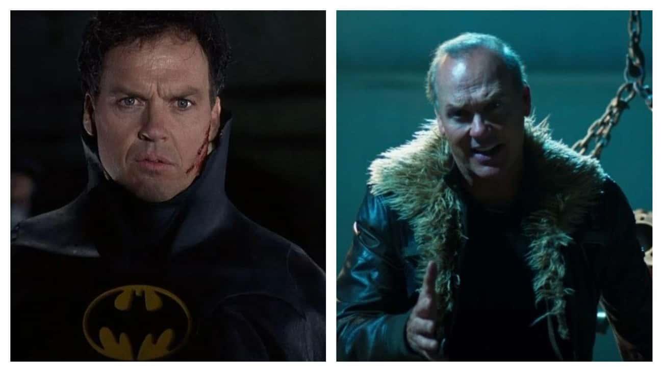 Michael Keaton (Batman/Vulture)